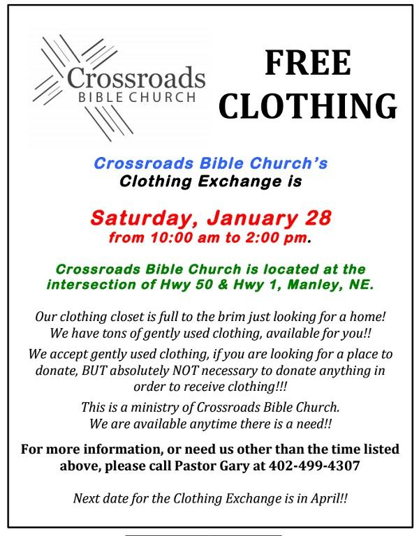 Crossroads clothing