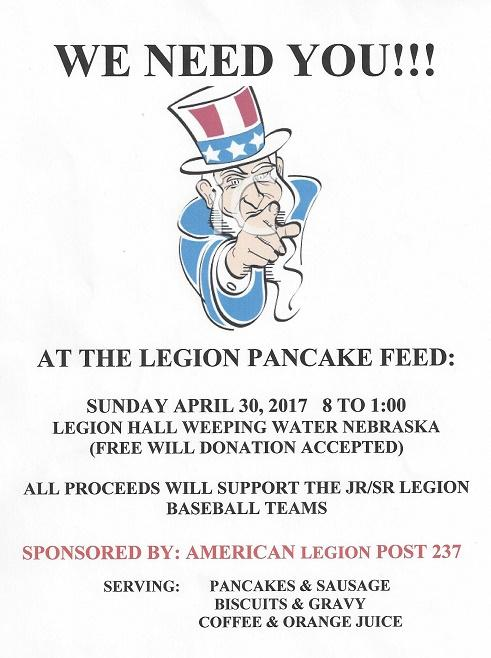 Legion Pancake Feed