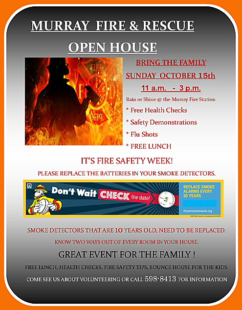Murrya Fire open house