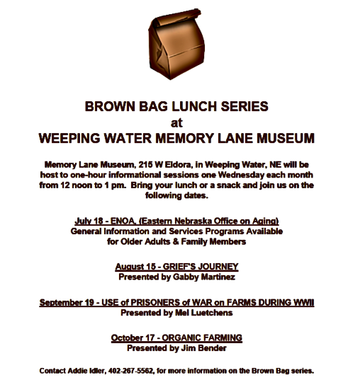 WW MEM LANE Brown Bag