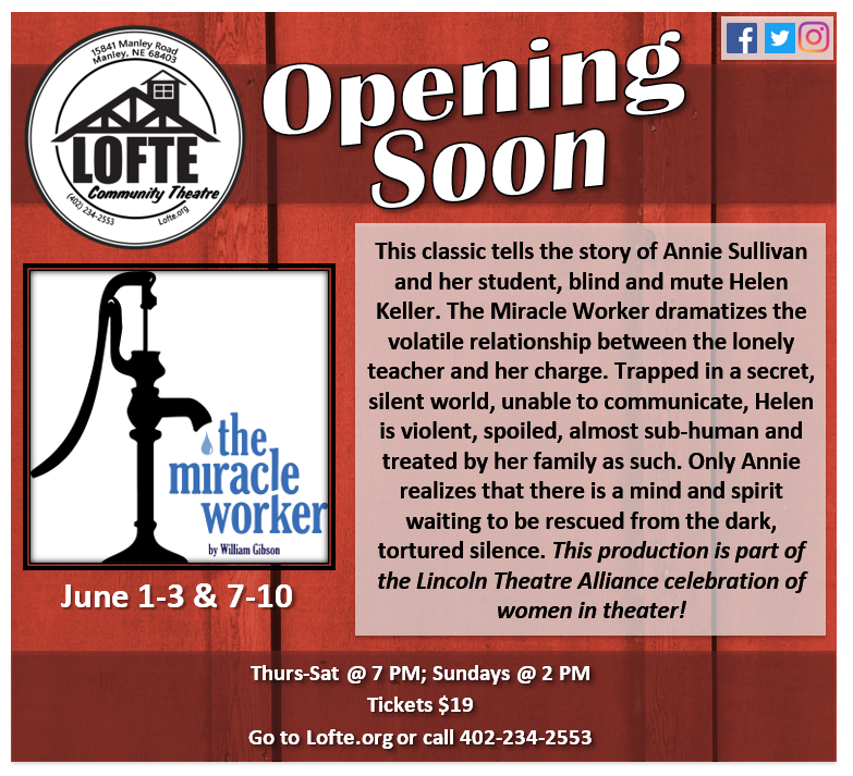 Opening Soon Miracle Worker