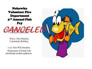 Nehawka fishfry cancelled