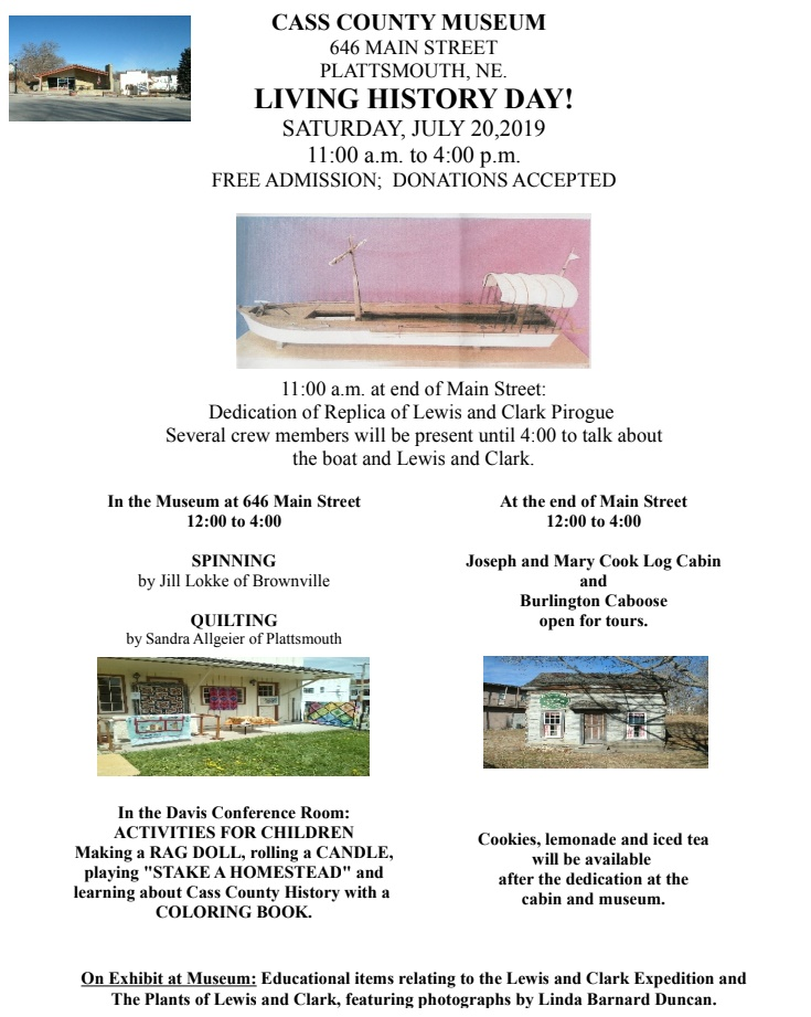 Weeping Water Newsletter - July 10, 2019